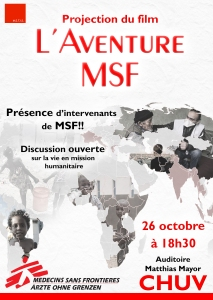 Affiche MSF